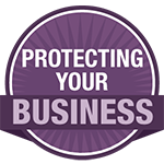 protecting your business icon