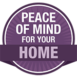 peace of mind for your home icon